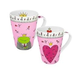 Konitz Princess and Prince of my Heart Mugs (Set of 2)