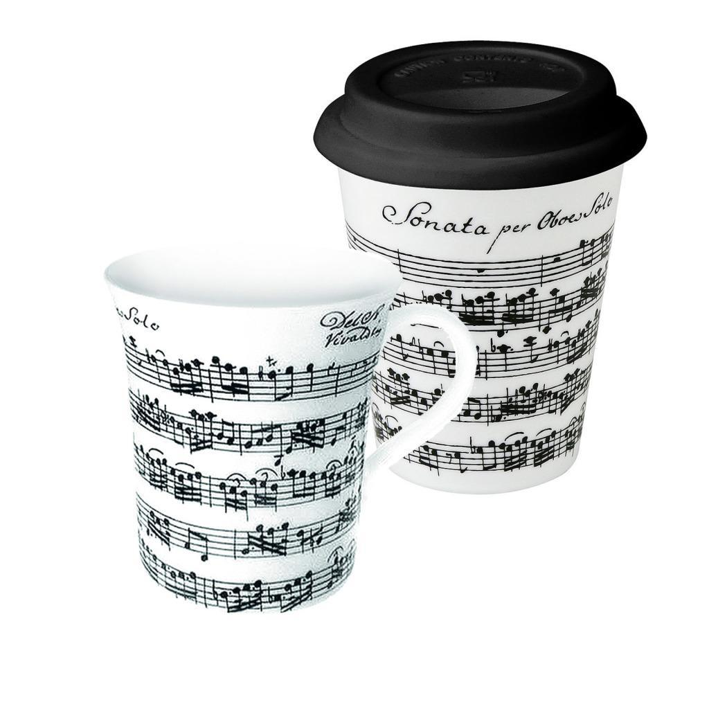 Konitz 'Vivaldi Libretto' Coffee Mugs (Set of 2)