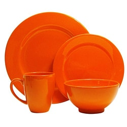Waechtersbach Orange 16-piece Place Setting Set