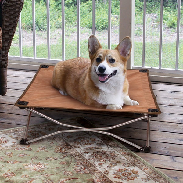Carlson Portable Pup Travel Pet Bed