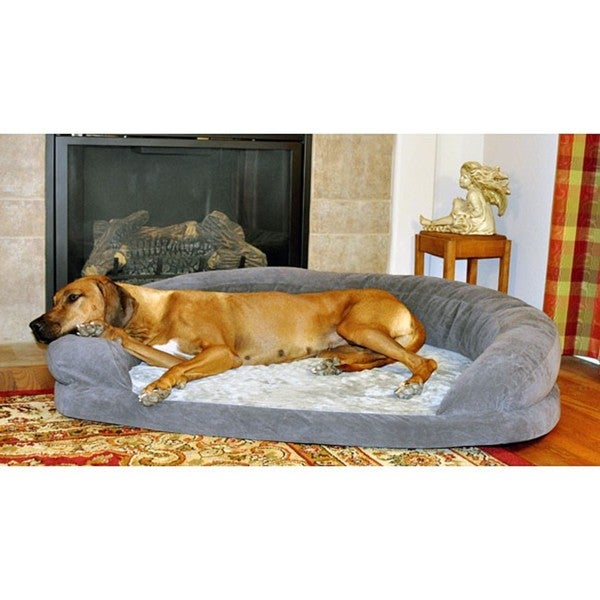 extra large orthopedic dog bed 3