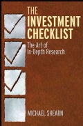 The Investment Checklist: The Art of In-Depth Research (Hardcover)