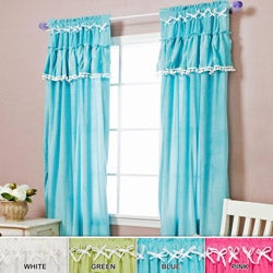Velour Ruffle 84-inch Panel Pairs