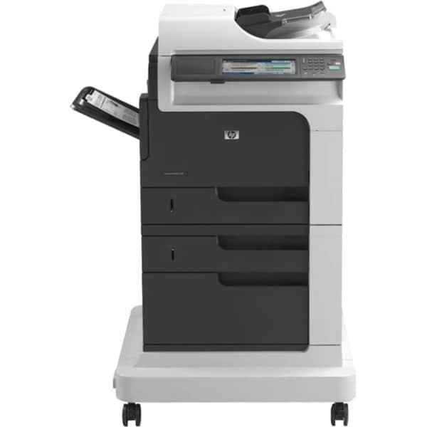 HP LaserJet M4555F Laser Multifunction Printer - Monochrome - Plain P