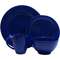 Waechtersbach Fun Factory Royal Blue 4-piece Place Setting