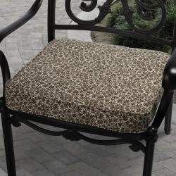 Ava Parson Brown Pattern Outdoor Cushion