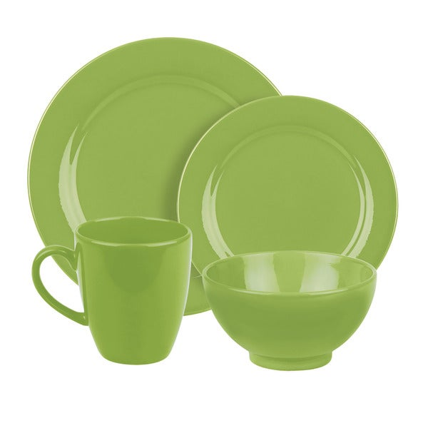 Waechtersbach 4-piece Fun Factory Green Apple Place Setting 8004336