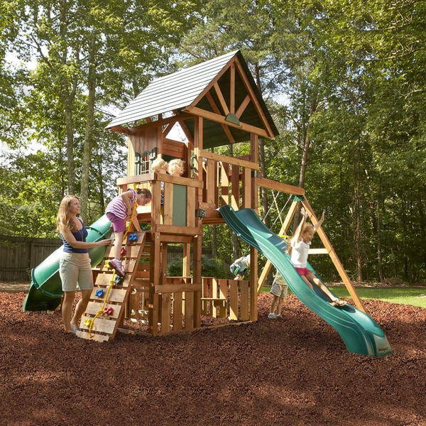 Swing-N-Slide Southampton Wood Complete Play Set