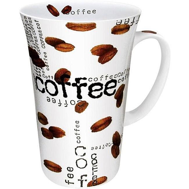 Konitz Coffee Collage Mega Mugs (Set of 4)