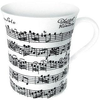 Konitz Vivaldi Libretto White Mugs (Set of 4)