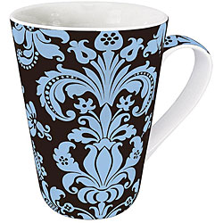 Konitz Rocaille Blue Mugs (Set of 4)