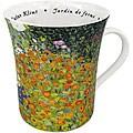 Konitz Les Fleurs Chez Les Peintres - Klimt Mugs (Set of 4)