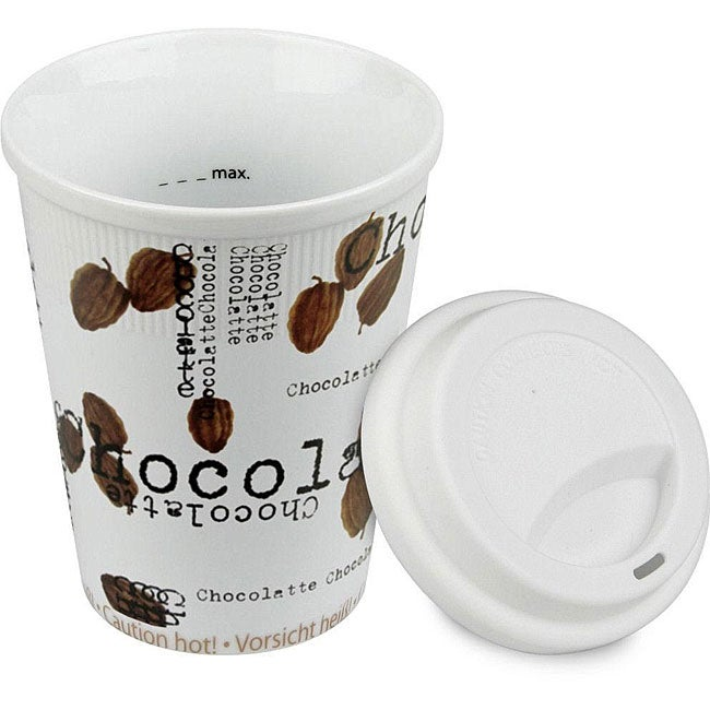 Konitz Chocolatte Travel Mugs (Set of 4)