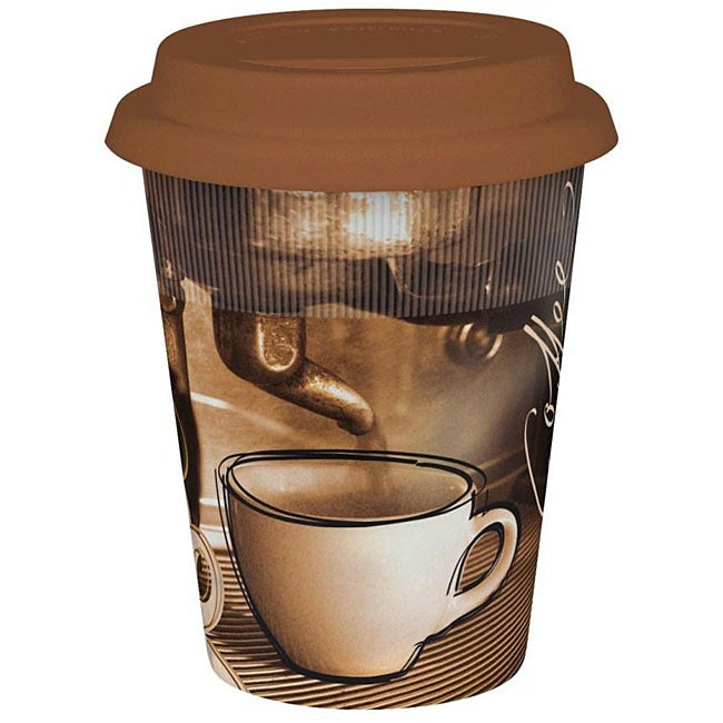 Konitz Coffee Story Travel Mugs (Set of 4)