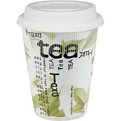 Konitz Tea Collage Travel Mugs (Set of 4)