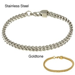 Men's Stainless Steel Cuban Link Bracelet