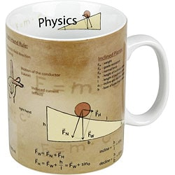 Konitz Science Physics Mugs (Set of 4)