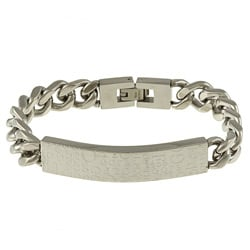 Men's Stainless Steel 'Golf' Link Bracelet