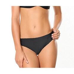 Donna di Capri Sexy Seamless Black Microfiber Thong