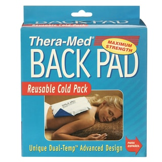 Thera-Med Cold Therapy Moldable Reuseable Dual Temp Back Pads