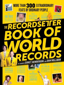 The Recordsetter Book of World Records (Paperback)