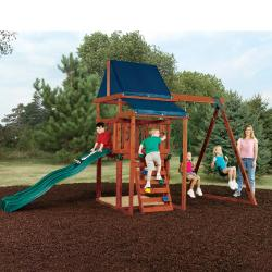 Swing-N-Slide Asheville Wooden Complete Play Set