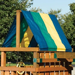 Multi-Color Swing Set Tarp