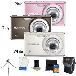 Olympus FE-4030 14MP Digital Camera with 2GB Kit (Refurbished)