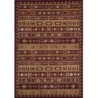 Preston Red Gabbeh Rug (9'3 x 12'6)