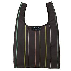 Envirosax Minisax Brown Stripe Lunch Tote