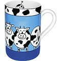 Konitz Mugs Animal Stories Cow (Set of 4)