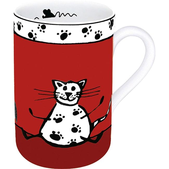 Konitz Mugs Animal Stories Cat (Set of 4)