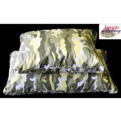 Integrity Bedding Medium Camouflage Memory Foam Camping Pillow