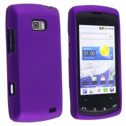 Dark Purple Rubber Case for LG VS740 Ally
