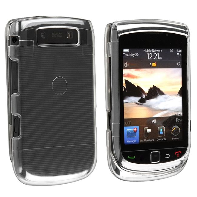 Clear Protector Case for Blackberry Torch 9800