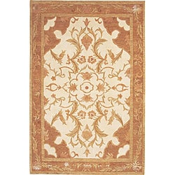 Hand-knotted Napa Himalayan Sheep Wool Rug (8' x 10')
