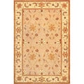 Hand-knotted Heiress Himalayan Sheep Wool Rug (6' x 9')