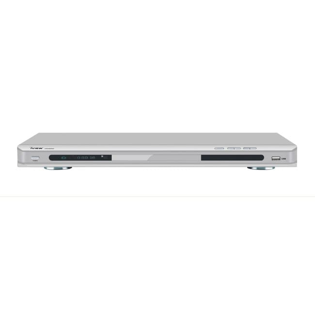 iView 2600HD Up-converting Silver DVD Player