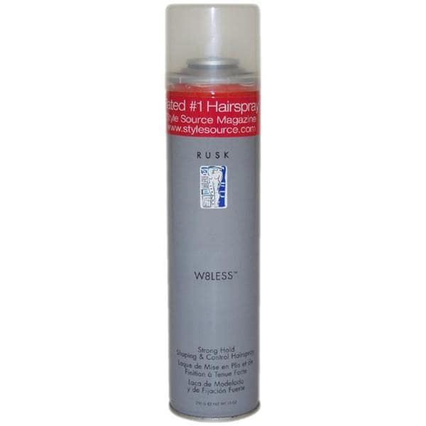 Rusk W8less Strong Hold Shaping and Control 10-ounce Hair Spray