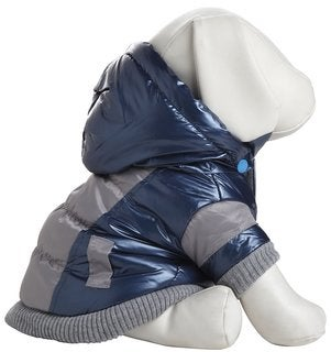Pet Life Aspen Blue Vintage Dog Ski Coat