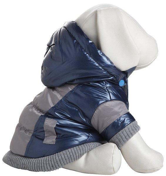 Pet Life Aspen Blue Vintage Dog Ski Coat