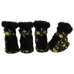 Pet Life Ultra-Fur Comfort Protective Boots (Set of 4)