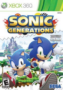 Xbox 360 - Sonic Generations - By SEGA