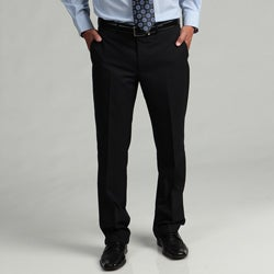 Kenneth Cole Reaction Men's Slim-Fit Navy Mini-Stripe Flat-Front Suit Separate Pant
