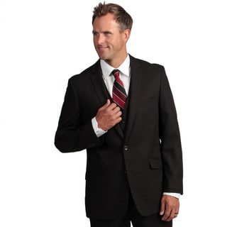 Kenneth Cole Reaction Men's Slim-Fit Black Suit Separate Coat