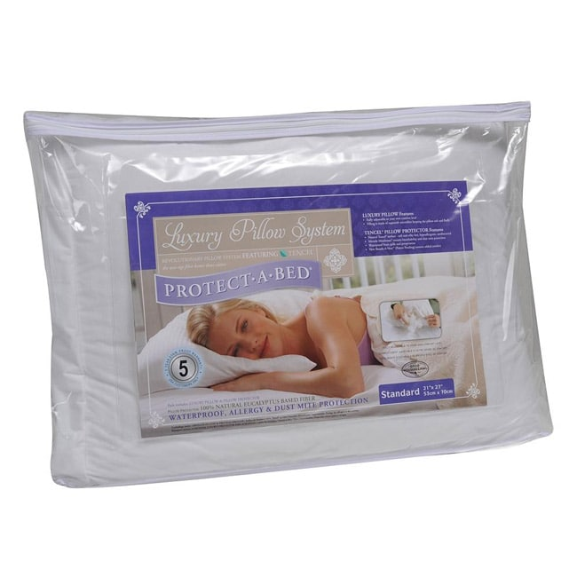 Protect-A-Bed Luxury Pillow System