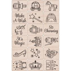 Hero Arts Ink 'n Fairy Princess Stamp