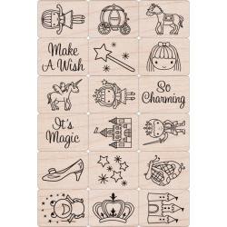Hero Arts Ink 'n Fairy Princess Stamp