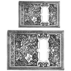 Tim Holtz Cling Rubber Stamp Set - Book Cover