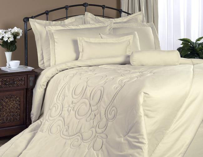 Regency Bone California King 4 Piece Comforter Set